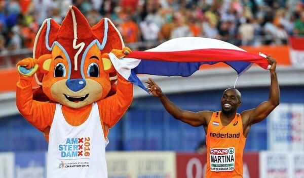 Чуранди Мартина на чемпионате Европы по легкой атлетике