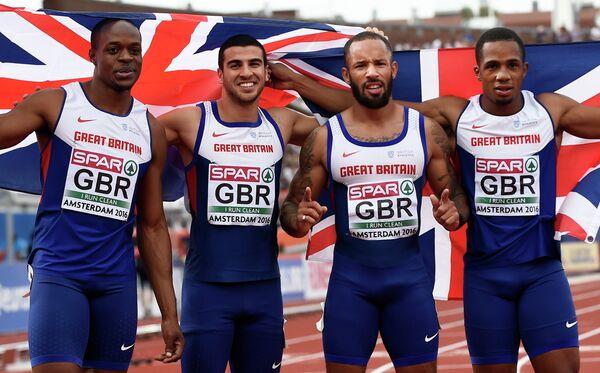 Британские бегуны-спринтеры