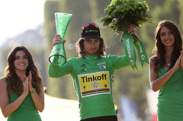 Велогонщик российской команды Tinkoff словак Петер Саган